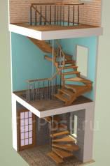 3D проектирование не стандартных лестниц.