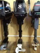 Tohatsu. 8,00л.с., 2-тактный, бензиновый, нога S (381 мм)