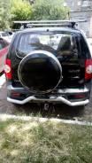 """БОКС на запасное колесо ИЗ Нержавеющей Стали Chevrolet NIVA. Диаметр 16"""", 1 шт."""