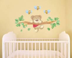 Оформление стен в детской комнате и не только