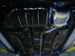 Антикорозийное покрытие кузова днища автомобиля