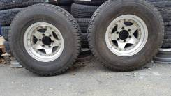 Bridgestone Blizzak DM-Z2. Всесезонные, 2001 год, износ: 20%, 2 шт