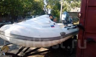 Продам лодку риб 330. Год: 2015 год, длина 3,30м., двигатель подвесной, 30,00л.с., бензин