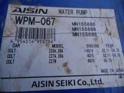 Помпа водяная. Mitsubishi Colt, Z27AG, Z25A, Z27W, Z27WG, Z26A, Z27A, Z28A Двигатели: 4G15, 4G19