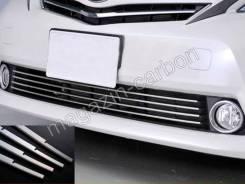 Накладка на решетку бампера. Toyota Prius a, ZVW41, ZVW41W, ZVW40W, ZVW40