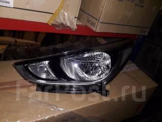 Фара. Hyundai Solaris, HCR Двигатели: G4FC, G4LC