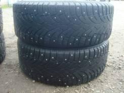 Bridgestone Noranza 2 EVO. Зимние, шипованные, износ: 40%, 2 шт