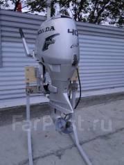 Honda. 40,00л.с., 4-тактный, бензиновый, нога S (381 мм), Год: 2006 год