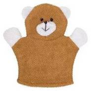 Махровая мочалка-рукавичка Baby Bear. Хлопкова ткань. ROXY-KIDS -