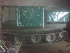 Самодельная модель. Продам самодельный гусеничный вездеход, 1 600 куб. см., 500 кг., 1 200,00кг.