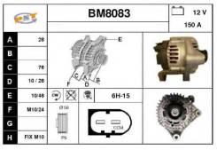 Генератор. Kia Combi BMW: 5-Series, 7-Series, 3-Series, X3, Z4 Двигатели: D4AL, D4DA, M54B25, M54B30. Под заказ