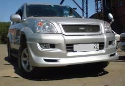 Обвес кузова аэродинамический. Toyota Land Cruiser Prado, KDJ120, GRJ125, KZJ120, LJ125, RZJ125, KDJ125, KDJ120W, GRJ121W, GRJ121, GRJ125W, KDJ125W, K...