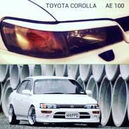 Накладка на фару. Toyota Corolla, AE100, AE100G, AE101, AE101G, AE103, AE104, AE104G, CDE110, CDE120, CE100, CE100G, CE101, CE101G, CE102, CE102G, CE1...