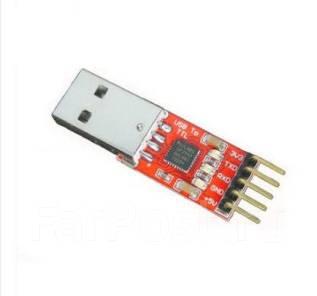 Преобразователь USB-UART на микросхеме CP2102