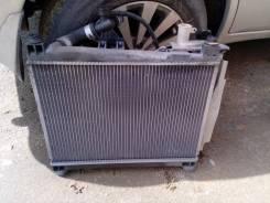 Радиатор охлаждения двигателя. Toyota Platz, NCP16 Двигатель 2NZFE
