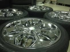 Шикарные VIP Хром от USA бренда Lexani R20 на 245/40 шинах износ 15%. 8.5x20 5x114.30 ET40 ЦО 73,0мм.