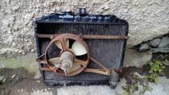 Радиатор охлаждения двигателя. Toyota Hiace Двигатели: 2L, 2LT