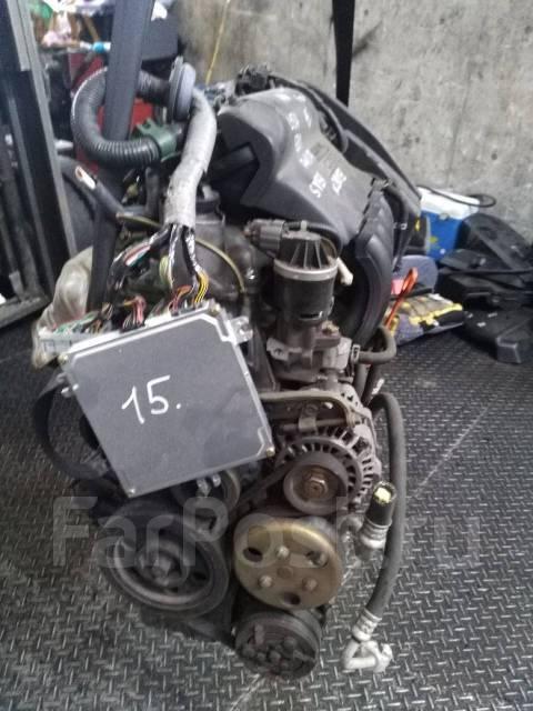 Двигатель в сборе. Honda Civic Honda CR-V Honda Fit Двигатели: D15B, K20A, L15B, K24A, R20A, B20B, L13B, L15A