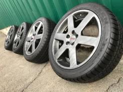 Готовый комплект Schmidt Motorsport R17+40 5*100+жирная зима 215/45/17. 7.0x17 3x98.00, 5x100.00 ET40