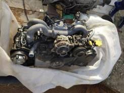 Двигатель в сборе. Subaru Forester Subaru Legacy Двигатель EJ254