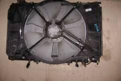 Радиатор охлаждения двигателя. Toyota Celsior, UCF20 Двигатель 1UZFE