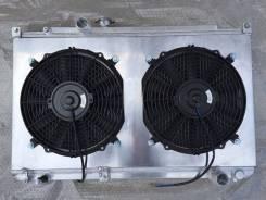 Диффузор с вентиляторами на радиатор JZX100. Toyota Chaser, JZX100 Toyota Cresta, JZX100 Toyota Mark II, JZX100