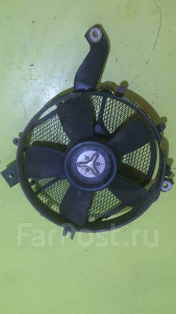 Вентилятор радиатора кондиционера. Mitsubishi Pajero, V46W, V46WG Двигатель 4M40
