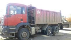 MAN TGA 33.350. Самосвал БЦМ-57 на шасси 6 4 BB-WW, 25 000 куб. см., 2 600 000 кг.