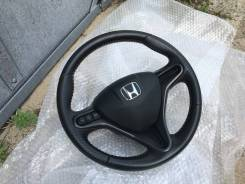 Переключатель на рулевом колесе. Honda Stream, RN8, RN9, RN6, RN7 Honda Fit Shuttle, GG8, GP2, GG7 Honda Insight, ZE2 Honda Fit, GE8, GE9, GP4, GE6, G...
