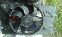 Мотор вентилятора охлаждения. Opel Astra