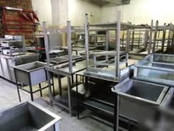 Столы мойки из нержавейки для общепита