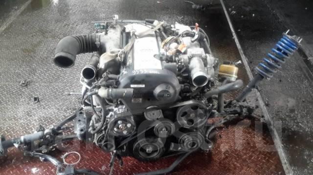 Двигатель в сборе. Toyota: Cresta, Crown Majesta, Verossa, Crown, Mark II, Soarer, Chaser, Mark II Wagon Blit Двигатель 1JZGTE