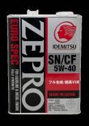 Idemitsu Zepro. Вязкость 5W-40