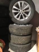 Комплект зимних колёс от RAV-4. 7.0x17 5x114.30 ET45 ЦО 60,1мм.