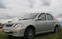 Обвес кузова аэродинамический. Renault Logan. Под заказ