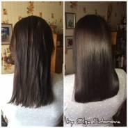 Кератиновое выпрямление, ботокс для волос