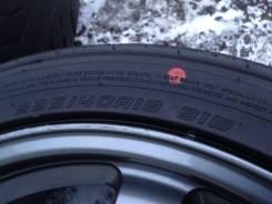 Dunlop Direzza ZII. Летние, 2015 год, износ: 20%, 4 шт