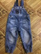 Комбинезоны джинсовые. Рост: 80-86 см