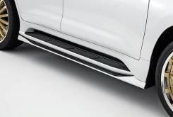 Накладка на порог. Lexus LX450d Lexus LX570. Под заказ