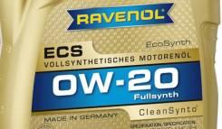 Ravenol ECS. Вязкость 0W-20, синтетическое