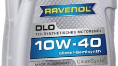 Ravenol DLO. Вязкость 10W-40, полусинтетическое