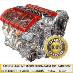 Двигатель в сборе. Mitsubishi Grandis Mitsubishi Chariot Grandis, N96W Двигатель 6G72. Под заказ