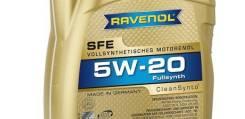 Ravenol SFE. Вязкость 5W-20, синтетическое