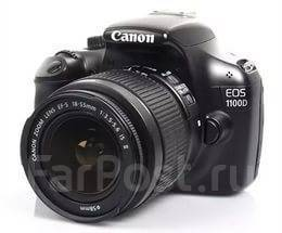 Canon EOS 1100D Kit. 10 - 14.9 Мп, зум: 12х