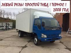 Isuzu NQR. 71 Термос 2008 год! Левый РУЛЬ. Простой ТНВД в Новосибирске, 4 600 куб. см., 5 000 кг.