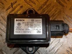 Датчик ускорения. Audi A6, 4F5/C6, 4F2/C6