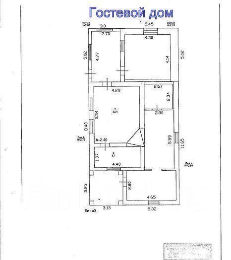 Дом в поселке Раздольное. Улица Мичурина 13, р-н Раздольное, площадь дома 78 кв.м., водопровод, скважина, электричество 18 кВт, отопление электрическ...