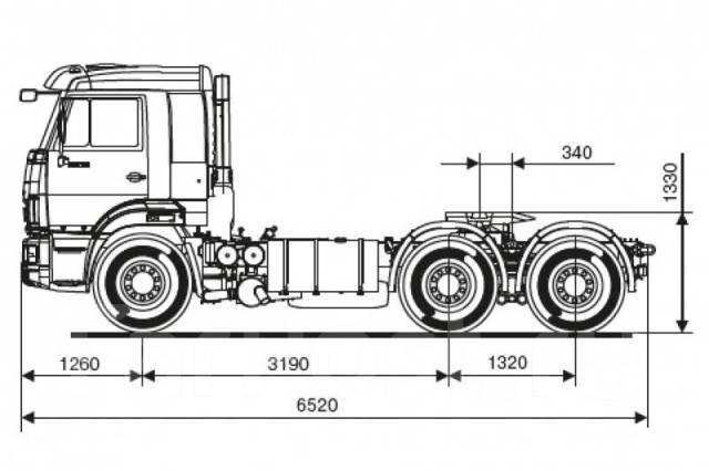 Камаз 65116. Седельный тягач Камаз-65116, 6 700 куб. см., 22 500 кг. Под заказ
