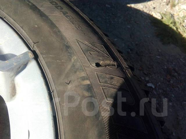 Зимний жир Bridgestone Ice Cruiser на литье. 6.5x17 5x114.30 ET45