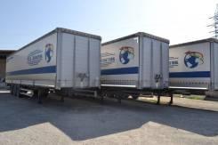 Kassbohrer. Шторно-бортовые 2012 г. в. 3шт., 39 000 кг.